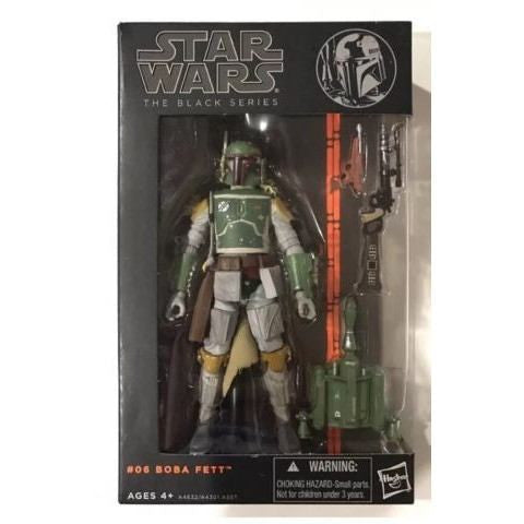ACTION FIGURES - Hasbro Star Wars The Black Series Boba Fett 6 Inch Action Figure