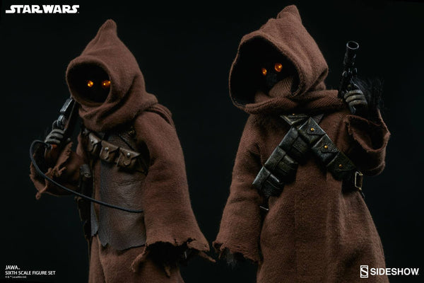 ACTION FIGURES - Jawa Sixth Scale Figure Set By Sideshow Collectibles