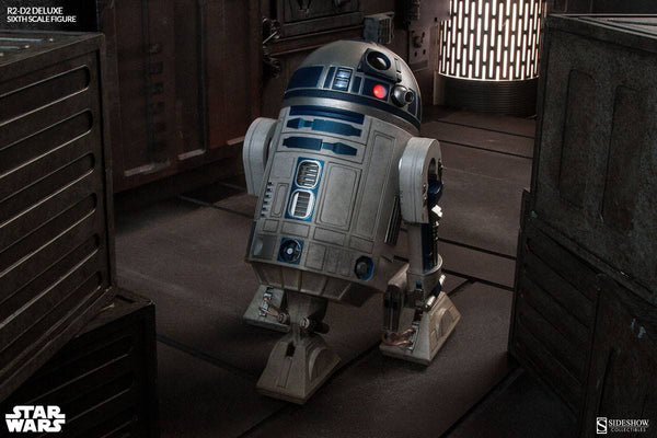 ACTION FIGURES - R2-D2 Deluxe Sixth Scale Figure By Sideshow Collectibles