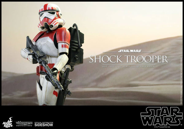 ACTION FIGURES - Shock Trooper Sixth Scale Figure By Hot Toys