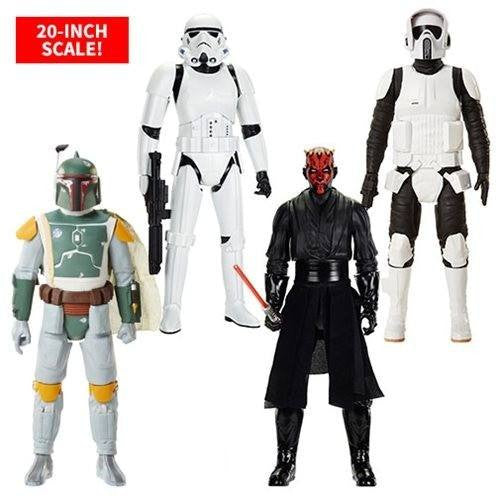 Action Figures - Star Wars 20-Inch Big Fig Action Figure Wave 6 Case