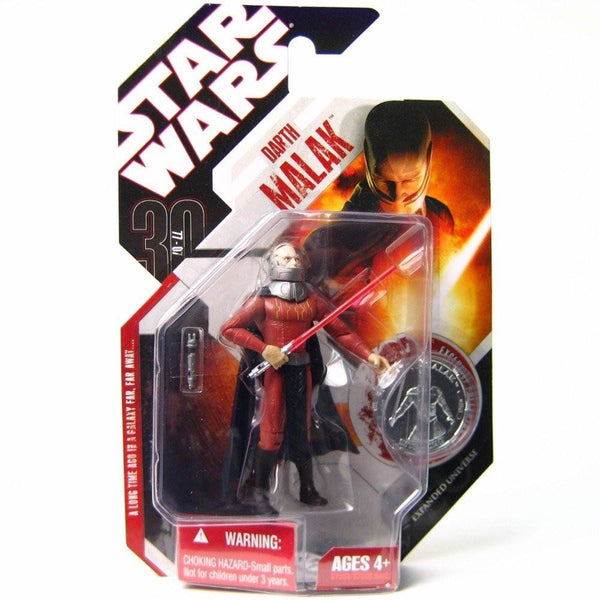 ACTION FIGURES - Star Wars 30Th Anniversary Expanded Universe Darth Malak