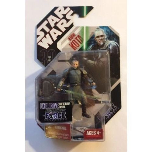 Action Figures - STAR WARS 30th Anniversary RAHM KOTA Jedi Force Unleashed ( Samurai Jedi)