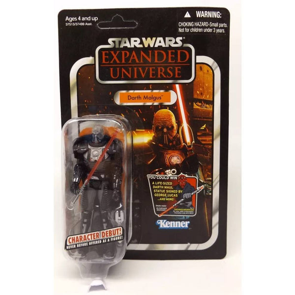 ACTION FIGURES - Star Wars Expanded Universe Darth Malgus