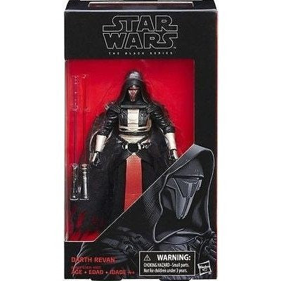 Action Figures - STAR WARS - THE BLACK SERIES -  WAVE 9 -DARTH REVAN.