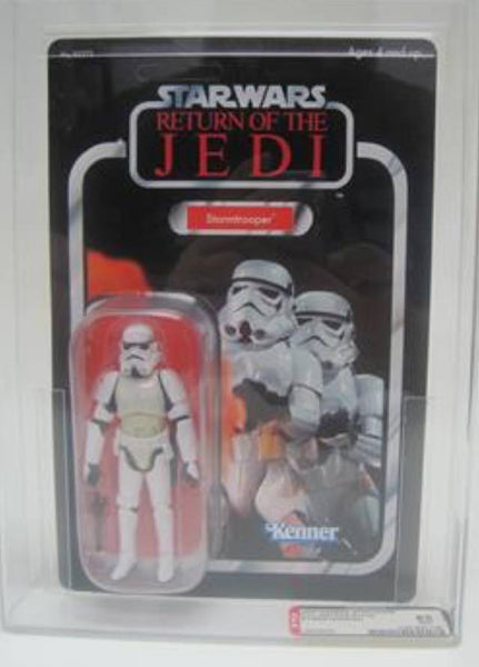 Action Figures - Star Wars Trilogy Collection Stormtrooper. AFA Graded 8.5