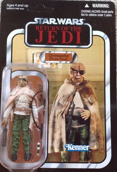 Action Figures - Star Wars Vintage Collection VC116 Return Of The Jedi Orrimaarko PruneFace Unpunched