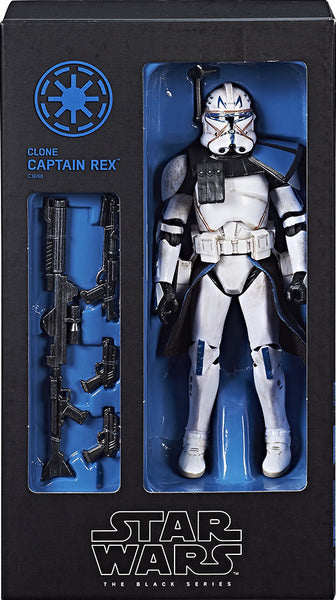 HASCON 2017 STAR WARS THE BLACK SERIES CLONE CAPTAIN REX PR-ORDER