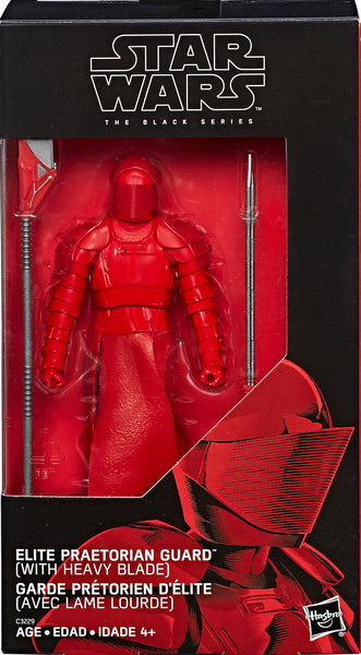 "Star Wars The Black Series TLJ Elite Praetorian Guard (Heavy Blade) 6"" Action Figure Exclusive Pre-Order"