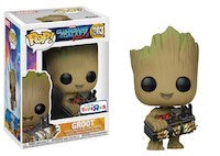 Funko POP! Marvel: Guardians of the Galaxy Volume 2 3.75 inch Vinyl Figure - Groot Holding Bomb TRU Exclusive