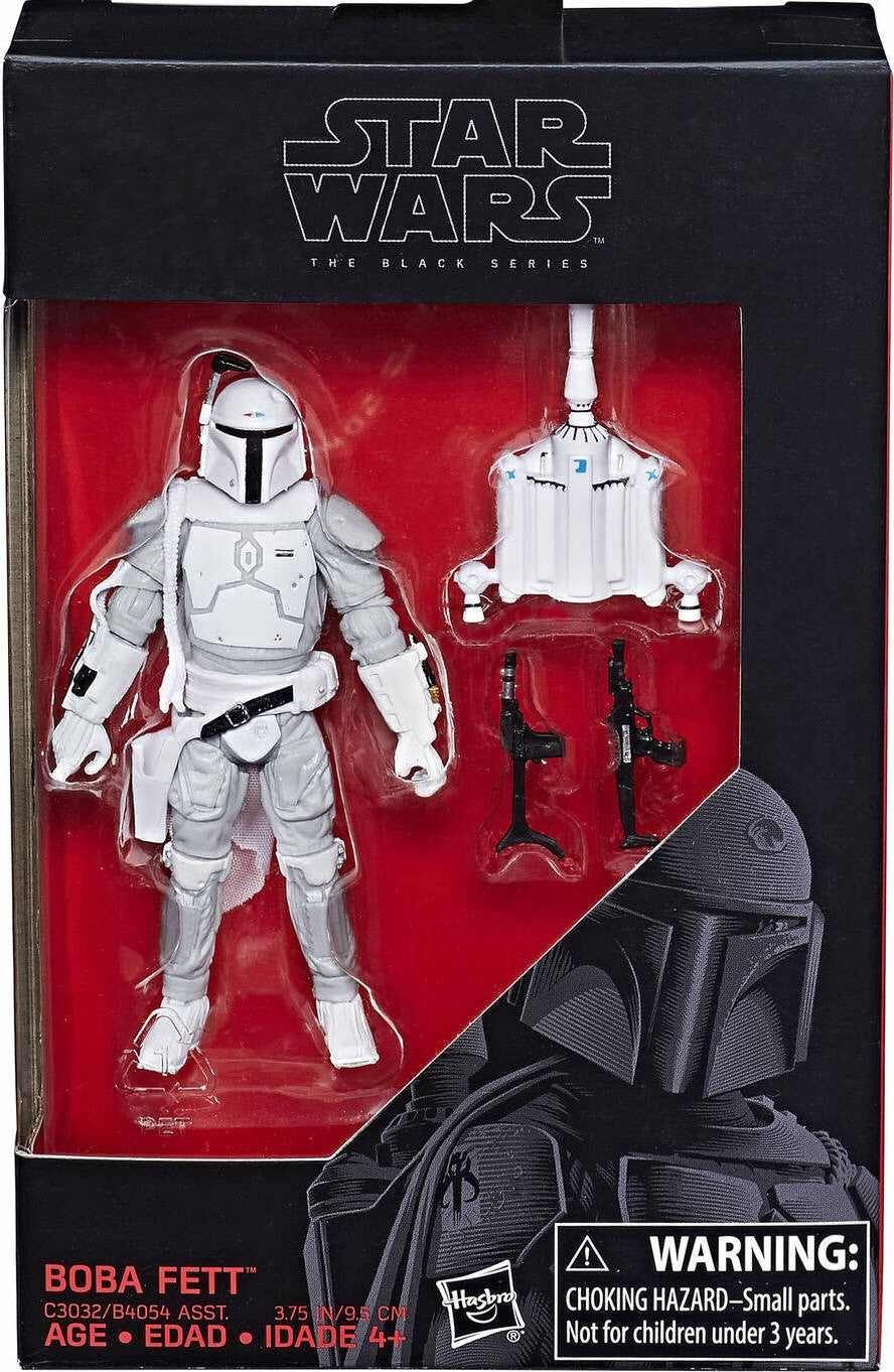 "Star Wars The Black Series 3.75"" Boba Fett Prototype Walmart Exclusive"