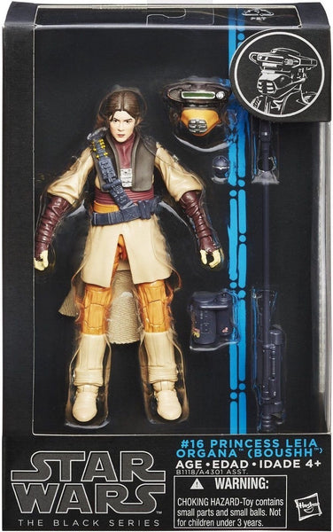 Hasbro Star Wars The Black Series Princess Leia Organa Boushh