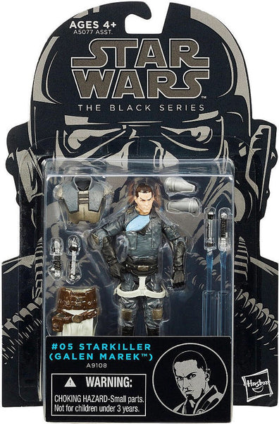 Hasbro Star Wars The Black Series Starkiller Galen Marek Action Figure