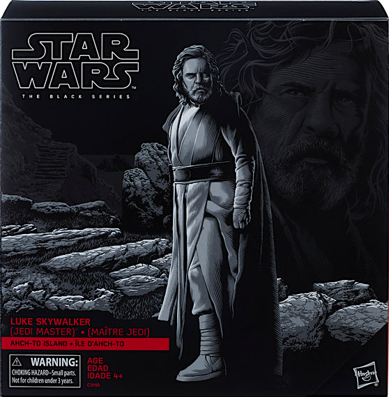 Star Wars The Black Series Luke Skywalker (Jedi Master) on Ahch-To Island