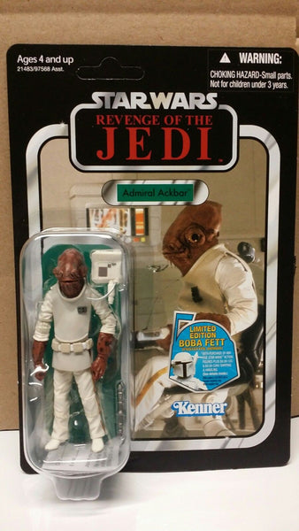 2011 SDCC Exclusive Star Wars Revenge of the Jedi Admiral Ackbar VC22 - The Vintage Collection