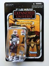 Star Wars 2011 Vintage Collection Action Figure #54 ARC Trooper Commander Unpunched