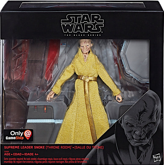 Star Wars The Black Series Supreme Leader Snoke & Throne Pre-Order
