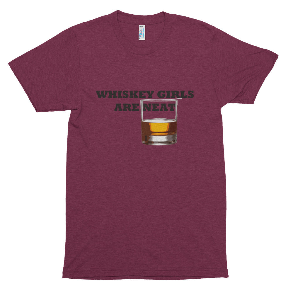 Whiskey Girls are Neat Premium soft t-shirt