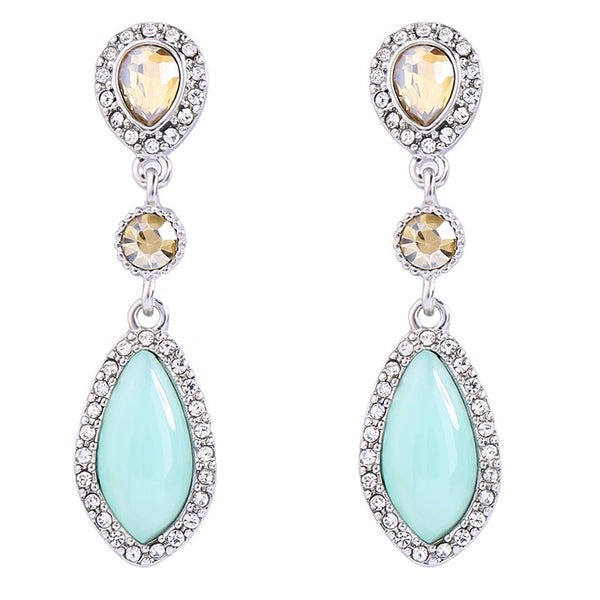 Toria Earrings - Turquoise