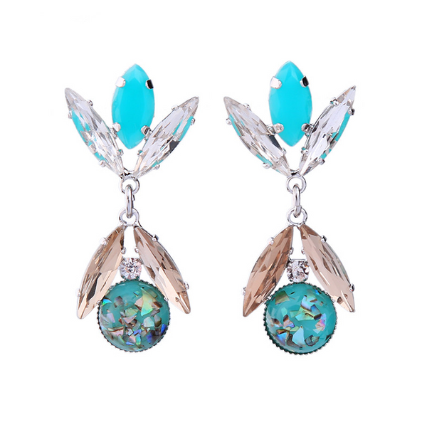 Provoke Earrings - Teal