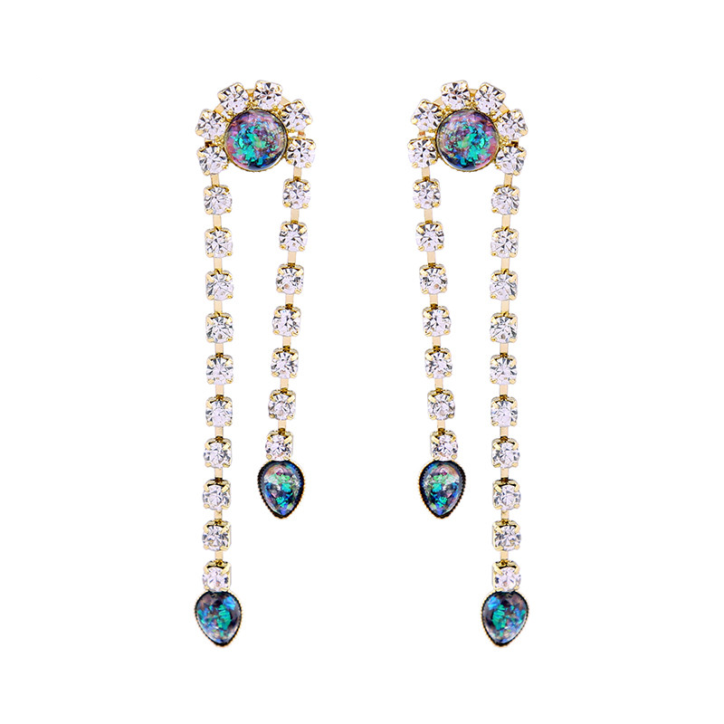 Lay It On Me Earrings - Opal