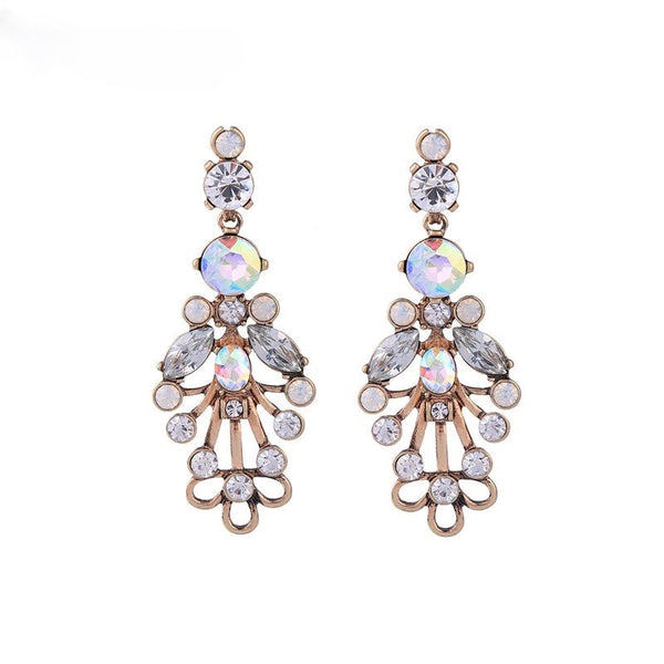 Kiara Earrings - Clear
