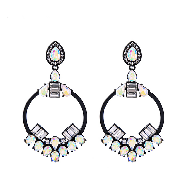 Reminisce Earrings - Black