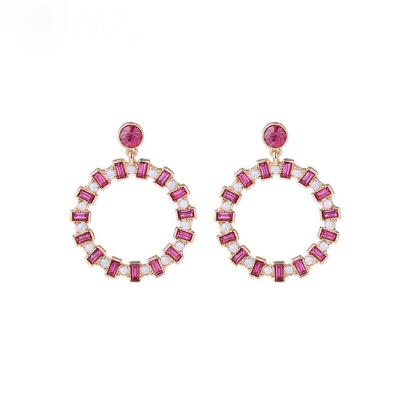 Forward Earrings - Pink