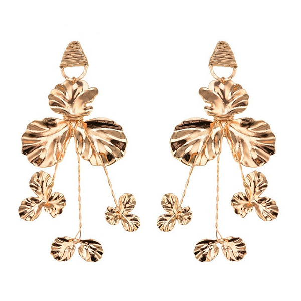 Serendipity Earrings - Gold