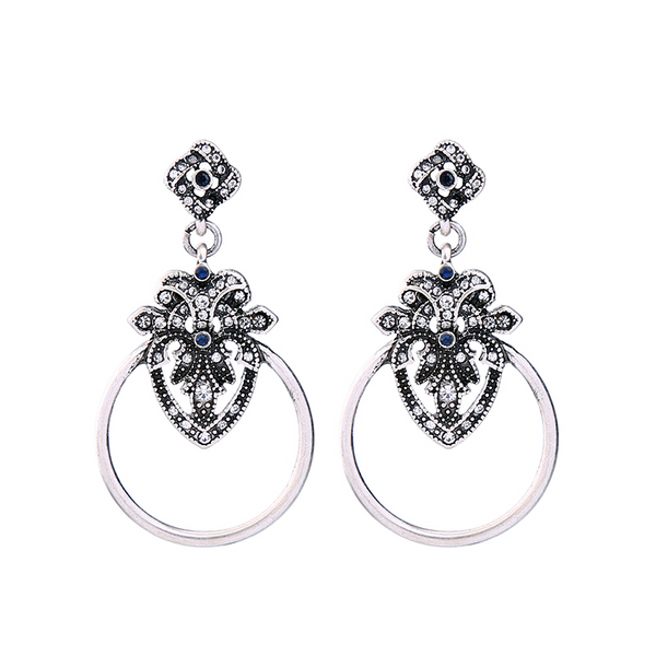 Dylan Earrings - Silver