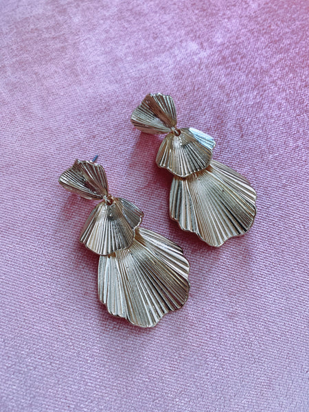 Feville Earrings - Gold