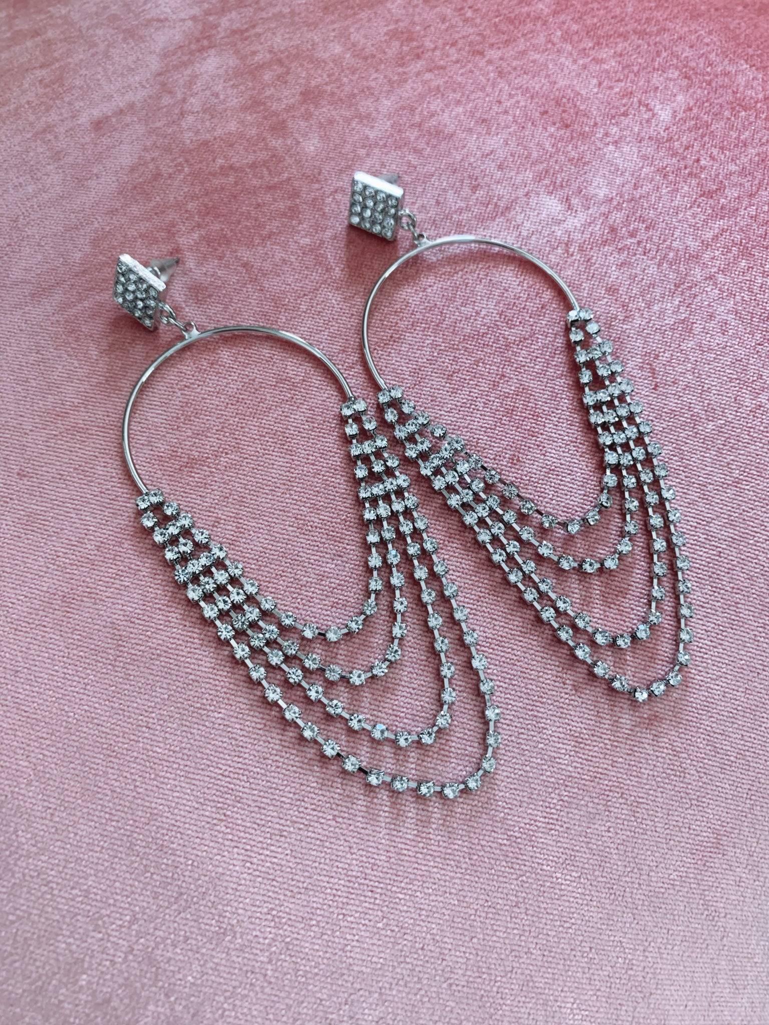 Mykonos Earrings - Silver