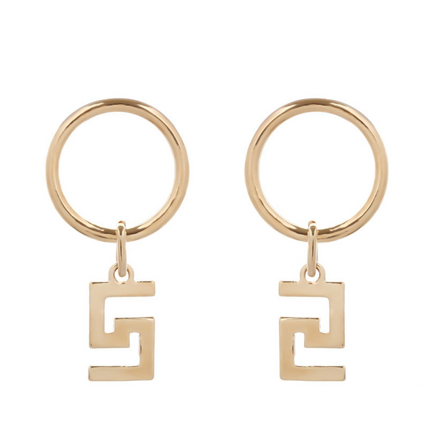 Key Hoops - Gold
