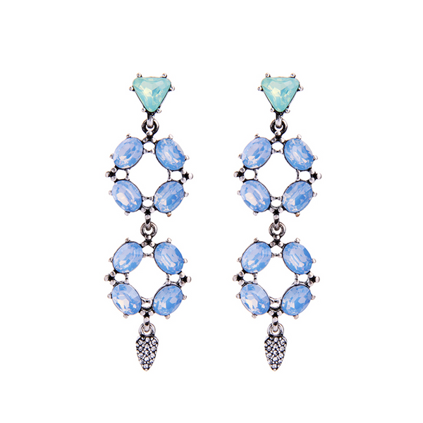 No Limit Earrings - Blue