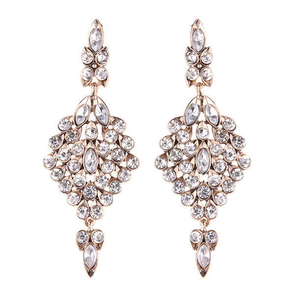 Athena Earrings - Clear