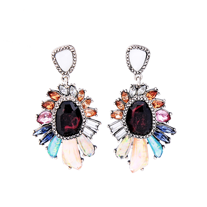 Autumn Nights Earrings - Burgundy