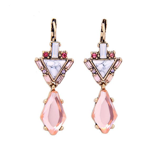 Be Mine Earrings - Baby Pink