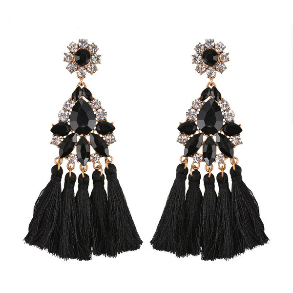Celebrate Earrings - Black