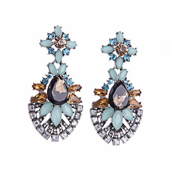 Momento Earrings - Blue