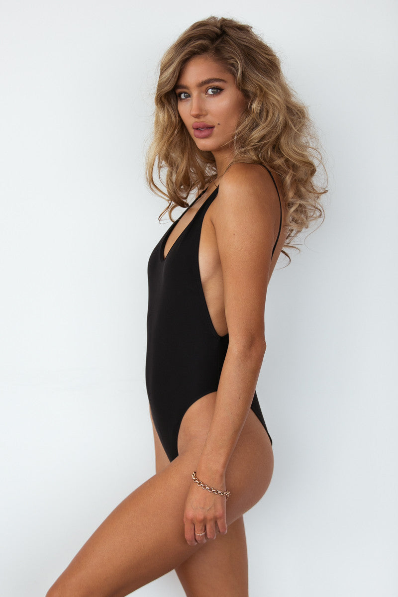 Candice One Piece - Black
