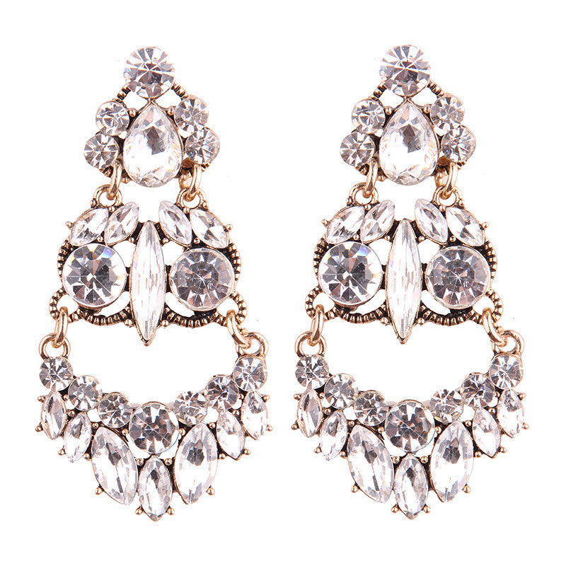 Chandelier Earrings - Clear