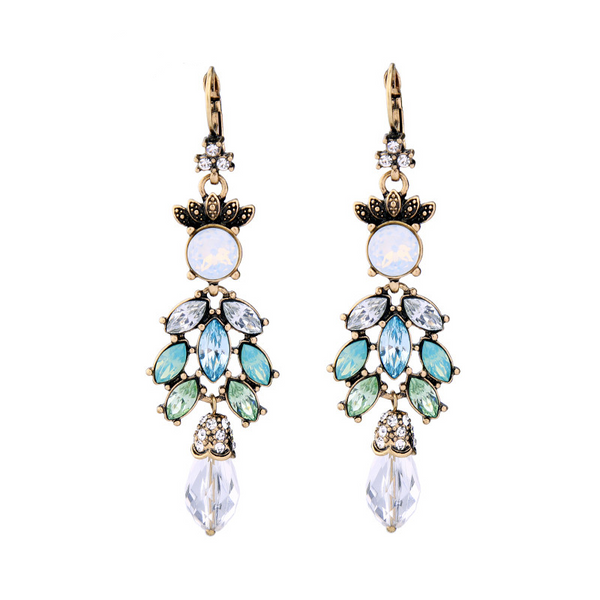 Vivacious Earrings - Green