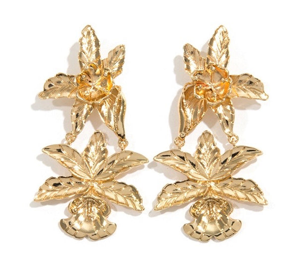 Darby Earrings - Gold