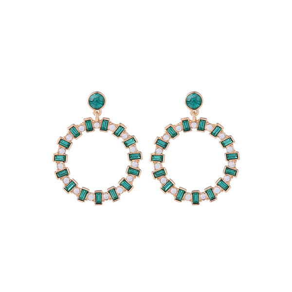 Forward Earrings - Green