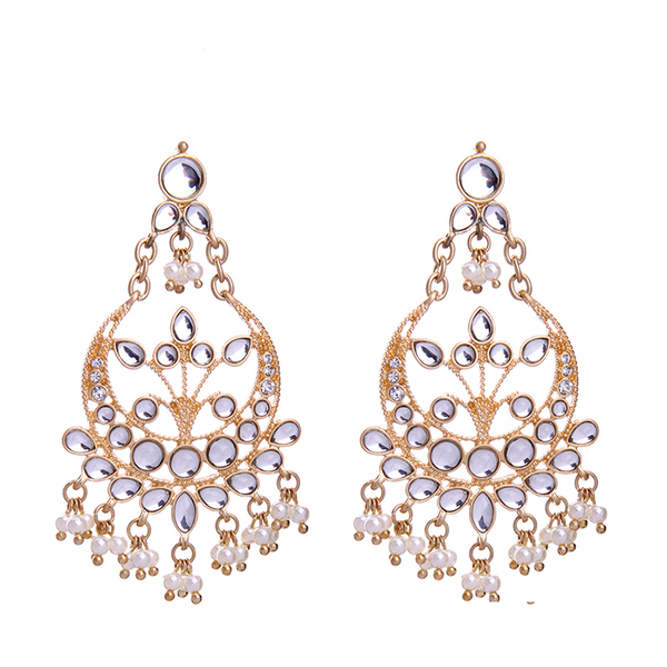 Jahan Earrings - Gold