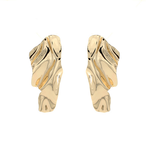 Summit Earrings - Gold