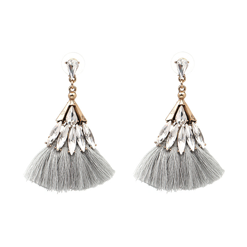 Chic Earrings - Grey