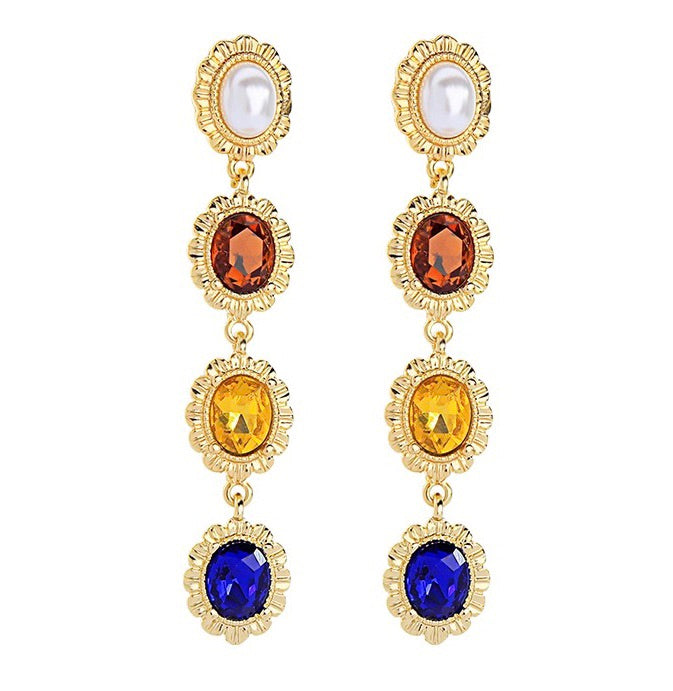 Mediterranean Earrings - Gold