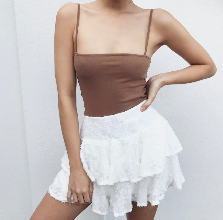 Bella Bodysuit - Tan