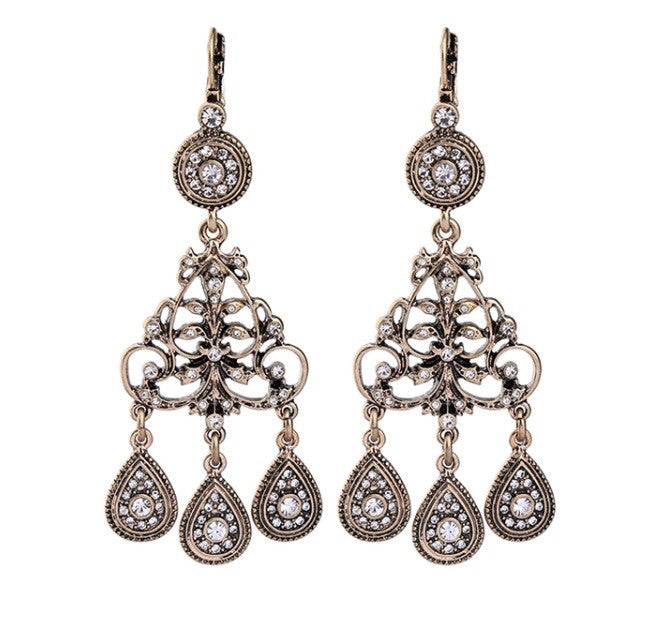 Emilia Earrings - Bronze